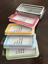 iPhone 5S iPhone SE Bumper Case Lot 5 Color Set Protection Case Set