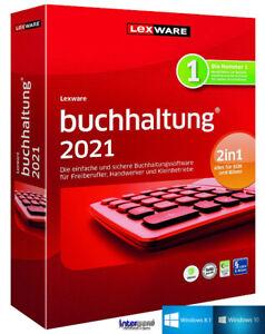 Lexware Buchhalter 2021 Vollversion + Handbuch (PDF), Updates Download NEU