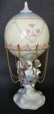 """Lladro  6524 """"Up And Away"""" Figurine Used"""