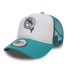 NEW ERA MENS BASEBALL CAP.FLORIDA MARLINS COAST 2 COAST MESH TRUCKER HAT 8S2 72