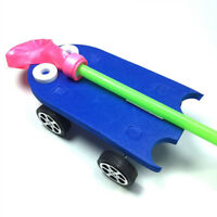 Children Funny DIY Balloon Power Car Kit Science Learning Educational Toy