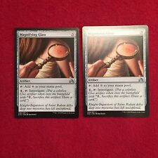 MTG X2 Magnifying Glass Shadows Over Innistrad Magic the Gathering Artifact Card