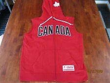 NWOT  Hudson's Bay Canada Olympic Team Hoodie Jacket Size M. SLEEVELESS