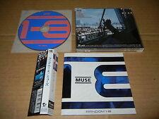 """MUSE """"Random 1-8"""" JAPAN only CD w/OBI avex AVCM-65060"""