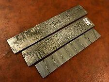 3x Damascus Steel Billet Bar-Knife-Razor Making Supplies-Annealed-Db16