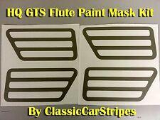 hq gts flute paint mask stencil kit 2x complete sets