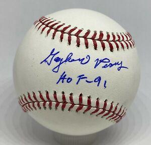 "Gaylord Perry "" HOF 1991 "" Signed Baseball Autograph TRISTAR COA Giants Yankees"