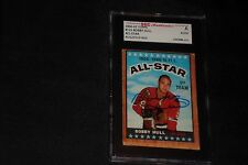 HOF BOBBY HULL 1966-67 TOPPS AS SIGNED AUTOGRAPHED CARD #125 SGC AUTHENTIC
