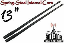 """13"""" RUBBER ANTENNA MASTS - FITS: 1989-2018 Harley Davidson Tour Glide - 2 PACK"""
