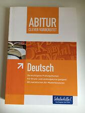 Abitur Clever vorbereitet Deutsch, Schülerhilfe, neu!!