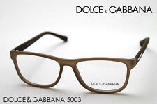 Brand New Dolce Gabbana Eyeglasses DG 5003 2620 Authentic Brown Frame Rx Italy S