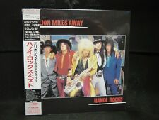HANOI ROCKS Million Miles Away JAPAN MINI LP CD Cherry Bombz Jerusalem Slim 69