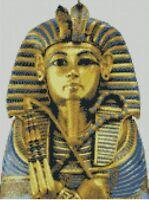 Tutankhamun Egyptian Counted Cross Stitch Kit FREE P&P