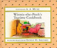 Winnie the Pooh's Teatime Cookbook (Winnie-the-Pooh)-ExLibrary