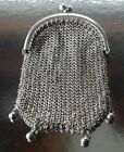 French vintage mess purse chatelaine sterling silver silber argent
