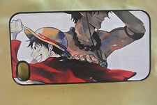 USA Seller Apple iPhone 4 & 4S  Anime Phone case  Cover One Piece Ace & Luffy