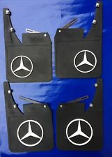 Mud Flaps Splash guard Set Fits For; Classic vtg Mercedes W114,W115,W116 W123