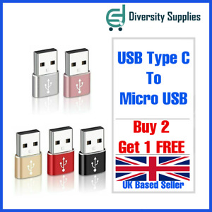 USB-C Type C Female to USB 3.1 Male Adapter for TABLET SAMSUNG LAPTOP PC MOBILE