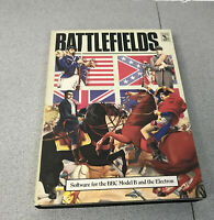 BBC Micro Computer Model B or Electron  ~ Battlefields Cassette Boxed