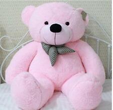 "Huge Soft Giant Big Plush ""Pink ""Teddy Bear 100cm kid birthday Gift handmade hot"