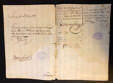 "King Charles IV of Spain Manuscript Document Signed ""Yo el Rey"" (""I the King"")"