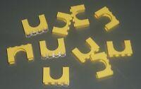 LEGO - BRICK, Arch 1 x 4 x 2, BRIGHT LIGHT YELLOW x 10 (6182) ZY116