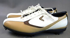 Callaway Golf Shoes ~X Series~ Women (Size 10) **WHITE and TAN**  (L1)