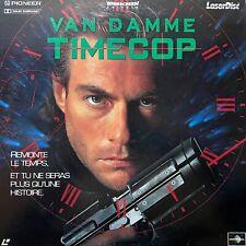 LASERDISC - TIMECOP - WS VF PAL - Jean-Claude Van Damme, Mia Sara