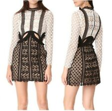 Fashion Womens Bandage Dress Lace Cut Out Bodycon Holiday Cocktail Party Club L