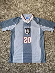 1996 england away retro shirt