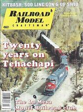 Railroad Model Craftsman Magazine April 2001 Kitbash: Soo Line Gon & UP SW10