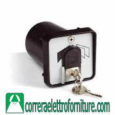 Selettore chiave CAME 001SET-K incasso, custodia zama con protezione serratura