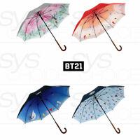 BTS BT21 Official Goods Automatic Long Umbrella Double Layer 880mm + Express