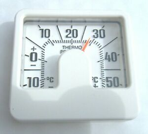 White Case Boat Thermometer Made by H. Richter Germany