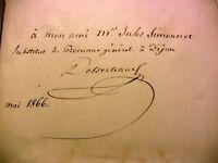 1855 RARE EO DESSERTEAUX+SIGNAT ARIOSTE JERUSALEM DELIVREE DU TASSE LIVRE POESIE