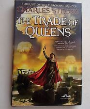 The Trade of Queens Bk. 6 by Charles Stross HB/DJ 1st edition 2010