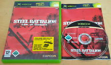 STEEL BATTALION LINE OF CONTACT for MICROSOFT XBOX RARE COMPLETE IN VGC Capcom