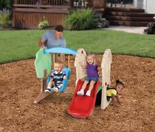 Kids Swing Chair Outdoor Swing Set Indoor Slide Playground Play Center Toddler