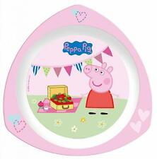 Peppa Pig Plastic Bowls, Plates & Cups for Children