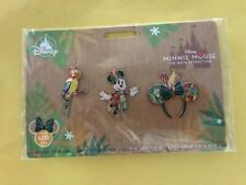 Minnie Mouse The Main Attraction Pin Set The Enchanted Tiki Room