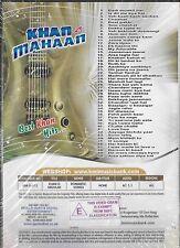 KHAN IS MAHHAN - BEST KHAN HITS - 20 HIT SONGS MUSIC DVD - FREE UK POST
