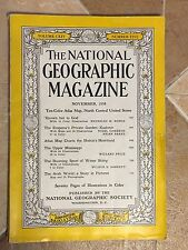 The National Geographic Magazine November 1958