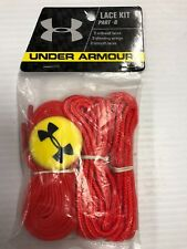 Under Armour Lacrosse Head Lace Kit Part B, Red