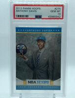 2012 Panini NBA Hoops #275 Anthony Davis Rookie RC PSA 10