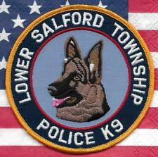 K-9  DHF PENNSYLVANIA  L. SALFORD Police Patch Polizei Abzeichen Hundeführer USA
