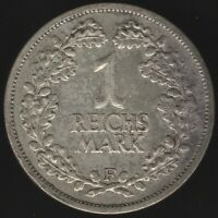 1925 F Germany Weimar Republic Silver Reichsmark Coin | Pennies2Pounds
