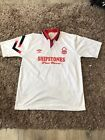 Vintage Nottingham Forest 1991 1992 Away Football Shirt Large Man