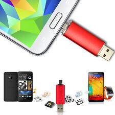 Design 8GB 2 in 1 Micro USB 2.0 USB Flash Drive For Cell Phone USB Pen Drive