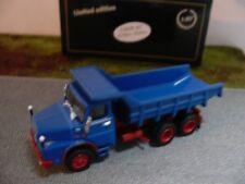 Linea 1/87 87 g8700340 Henschel H 261 AK 6x6 Kipper Blu/Rosso