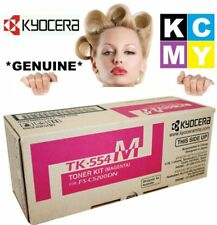 Kyocera Genuine/Original TK-554M MAGENTA Printer Toner Cartridge TK554M 554-M